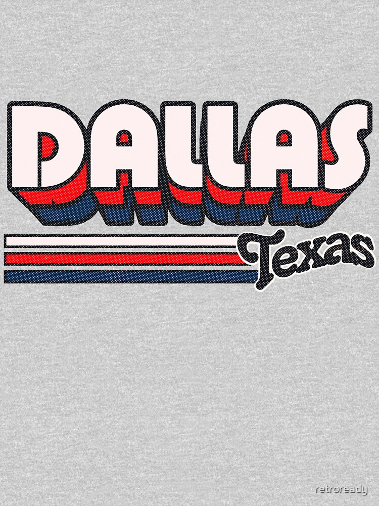 Dallas, TX | City Stripes by retroready