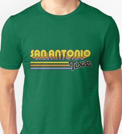 San Antonio, TX   City Stripes T-Shirt