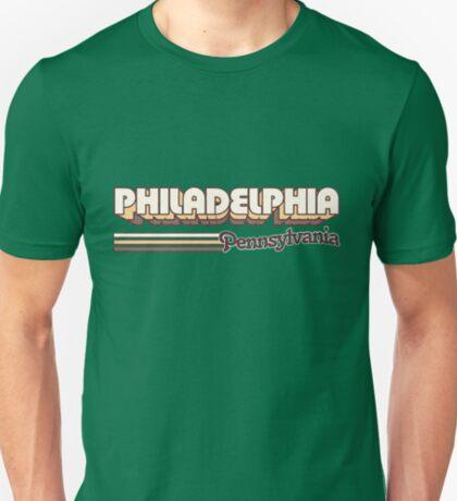 Philadelphia, PA   City Stripes T-Shirt