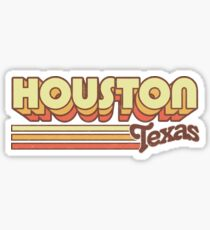 Houston, TX | City Stripes Sticker
