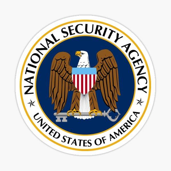 National Security Agency Emblem Sticker