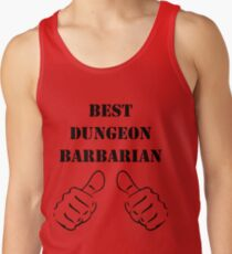 Barbarian Builds Tank Tops | Redbubble