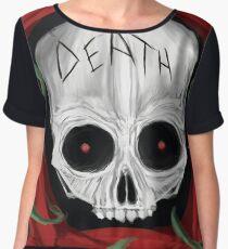 Skull of Death Women's Chiffon Top