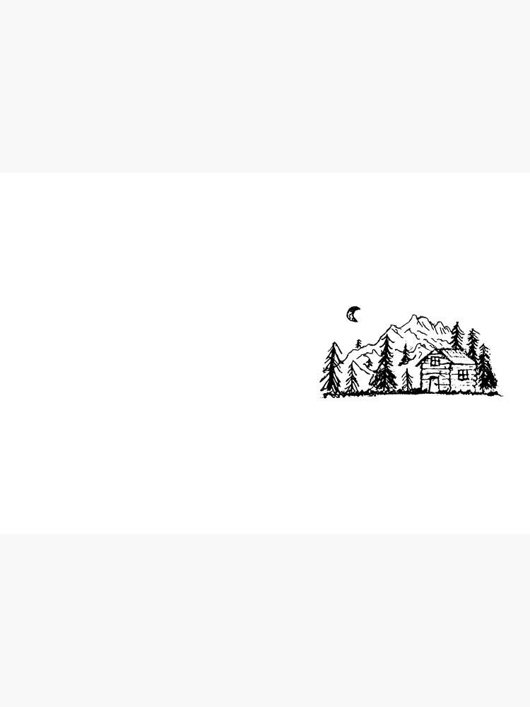 Hütte im Wald von underdogdesigns