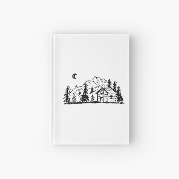 Cabin in the Forest  Hardcover Journal