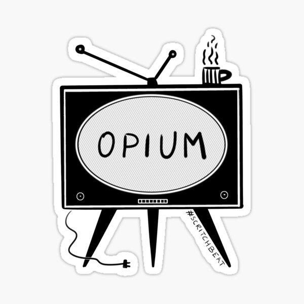 Opium_TV Sticker