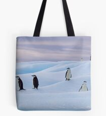 Chinstrap Penguins - Antarctica Tote Bag