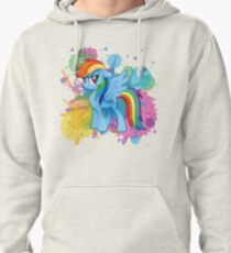 my little pony rainbow dash Pullover Hoodie