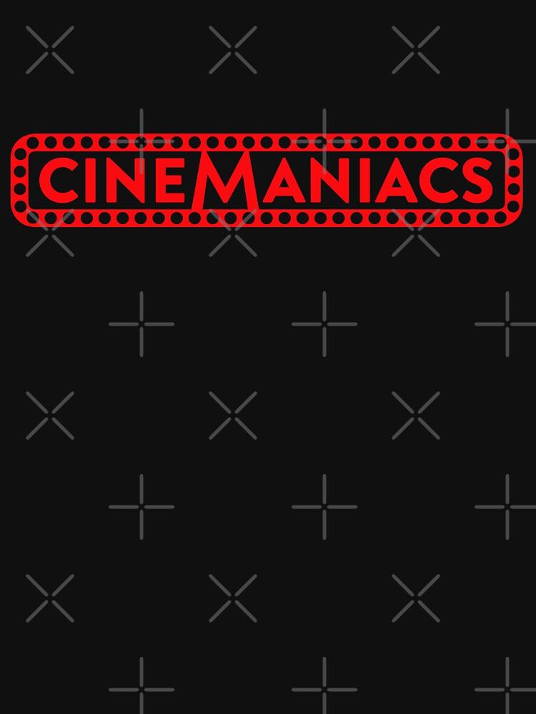 Cinemaniacs LOGO [on black] by DCdesign
