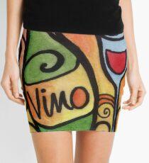 Vino - the Wine Lover Mini Skirt