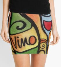 Vino - the Wine Lover Mini Skirt