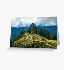 Lost City of the Incas Greeting Card