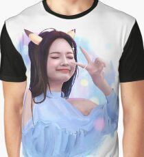 Kpop Blackpink Jennie Pokemon Art Graphic T-Shirt