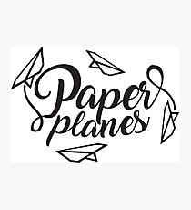 Paper planes Photographic Print