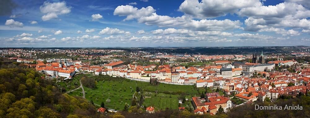 Prague Panorama by Dominika Aniola