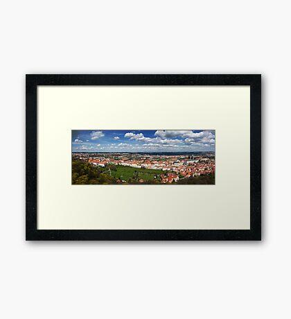 Prague Panorama Framed Print