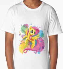 my little pony fluttershy Long T-Shirt