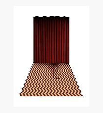 Twin Peaks - Black Lodge Photographic Print