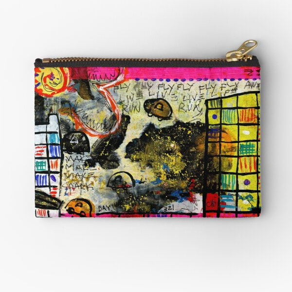 Project 321 - Fly, Fly Away Zipper Pouch