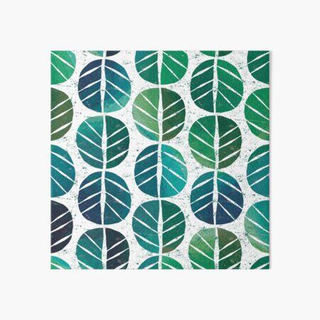 i love Green Leaf Art Board Print