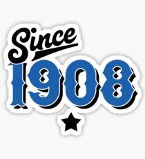 Since 1908, Soccer Football Calcio Milan Italy Sticker
