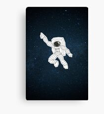 Gimmie some space, baby! 2 ver. Canvas Print