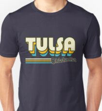 Tulsa, OK | City Stripes T-Shirt
