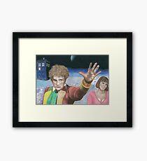 6th Doctor Colin Baker Framed Print