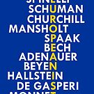 Founding Fathers of the European Union by mycountryeurope