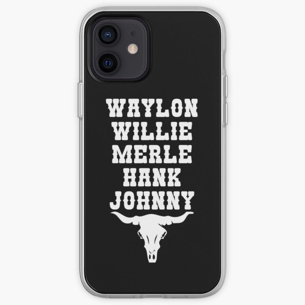 Country Music Legends iPhone Case & Cover