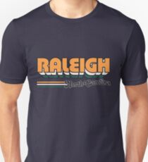 Raleigh, NC | City Stripes T-Shirt
