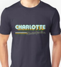 Charlotte, NC | City Stripes T-Shirt