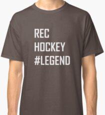 Rec Hockey Legend Graphic Classic T-Shirt