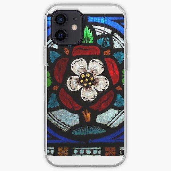 Tudor Rose Window iPhone Soft Case