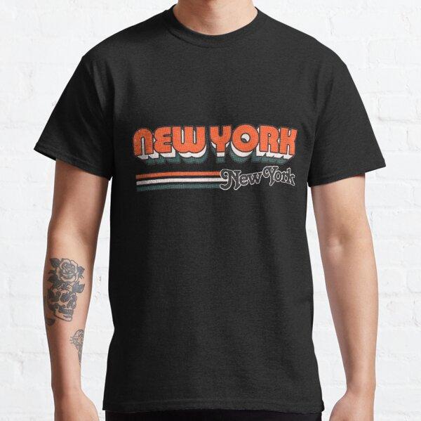 New York, NY   City Stripes Classic T-Shirt