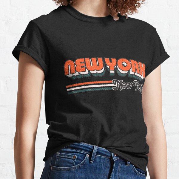 New York, NY | City Stripes Classic T-Shirt