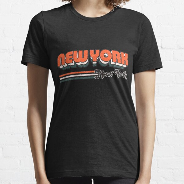New York, NY | City Stripes Essential T-Shirt