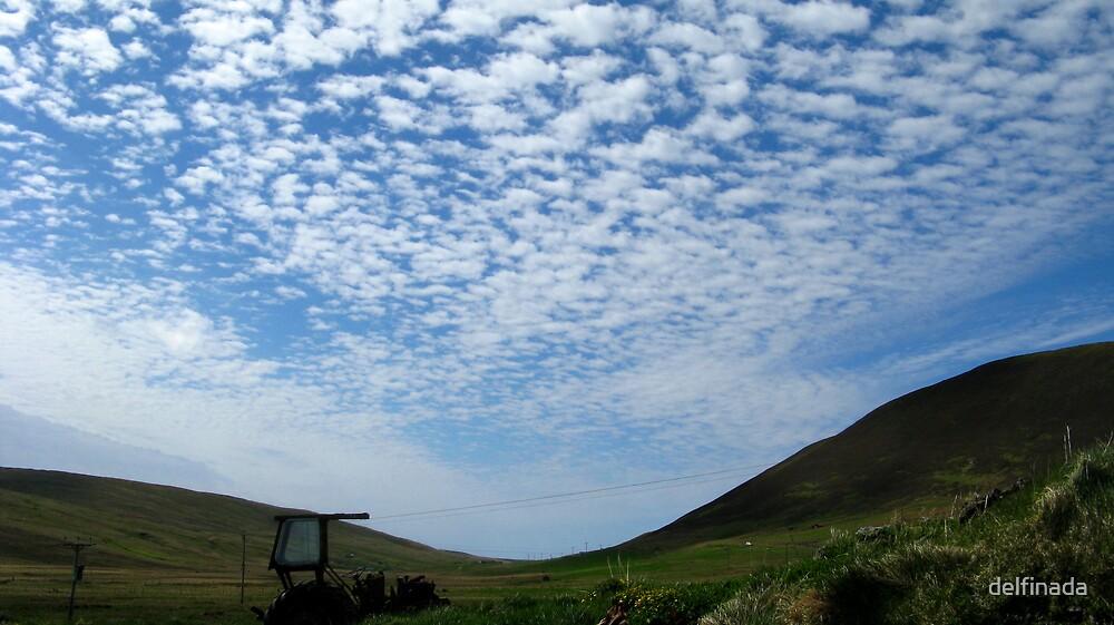 clouds by delfinada