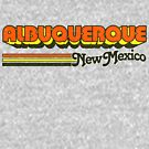 Albuquerque, NM | City Stripes by retroready