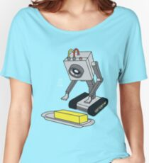 Rick & Morty Pass The Butter Women's Relaxed Fit T-Shirt