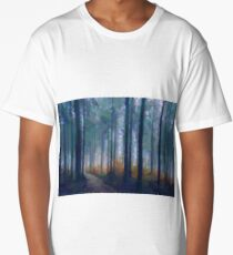 Backlit Branch Conifer Long T-Shirt