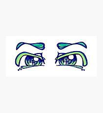 tranquil eyes Photographic Print