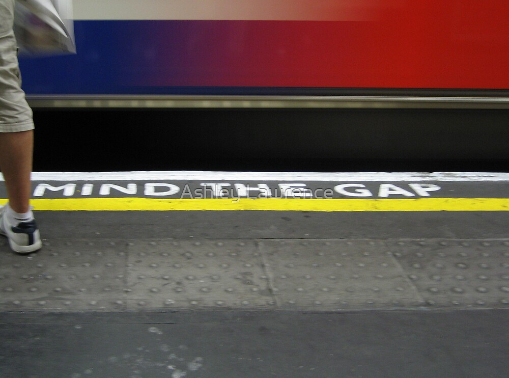Mind The Gap by Ashley Lawrence