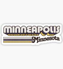 Minneapolis, MN | City Stripes Sticker