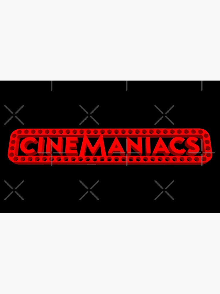 Cinemaniacs 3D LOGO [on black] by DCdesign