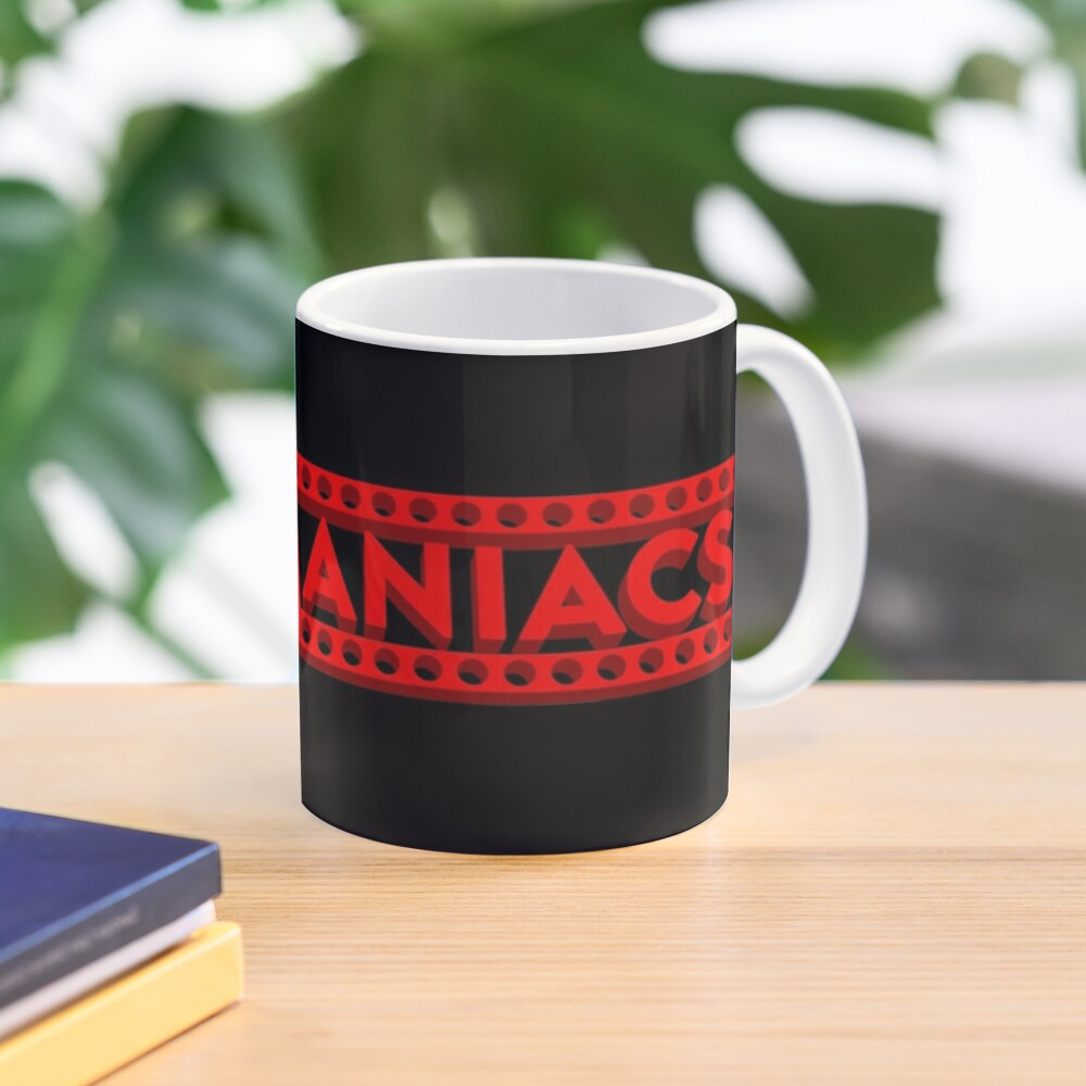 Cinemaniacs 3D LOGO [on black] Mug