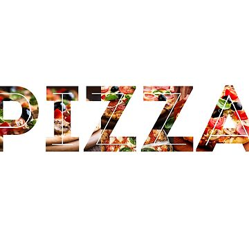 I Love Pizza by mindsgallery