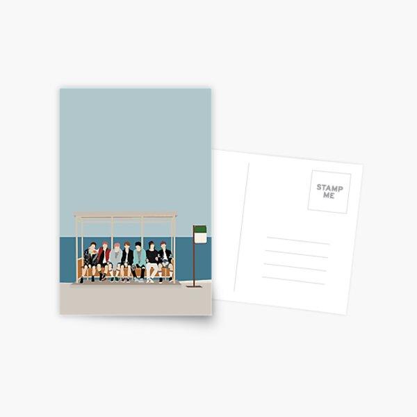 BTS You Never Walk Alone Postcard