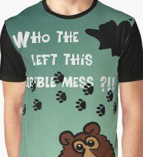 Dirty Footprints 3 Graphic T-Shirt