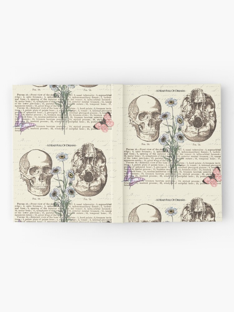 Alternate view of A head full of dreams Hardcover Journal
